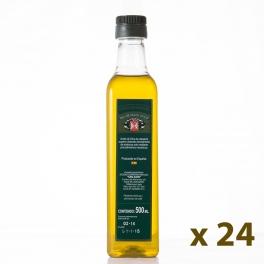 Pack: 24 bottles of 0,5 l. extra virgin olive oil