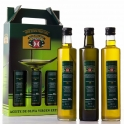 Estuche: Dorica Rosca Antique 3 botellas de 0,5 l. aceite de oliva virgen extra