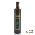 Caja: 12 botellas de cristal de 0,5 l. aceite de oliva virgen extra