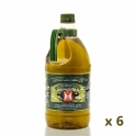 Pack: 6 bottles of 2 l. extra virgin olive oil