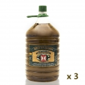 Pack: 3 bottles of 5 l. extra virgin olive oil