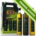 PRIMER ACEITE - Estuche: Dorica Rosca Antique 3 botellas de 0,5 l. aceite de oliva virgen extra