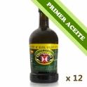 PRIMER ACEITE - Caja: 12 botellas de cristal Regal de 0,5 l. aceite de oliva virgen extra