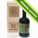 FIRST OIL - Wooden case 1 bottle of 0,5 l. extra virgin olive oil
