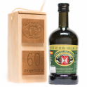 Estuche 60 Aniversario: 1 botella de cristal de 0,5 L. Aceite de oliva virgen extra